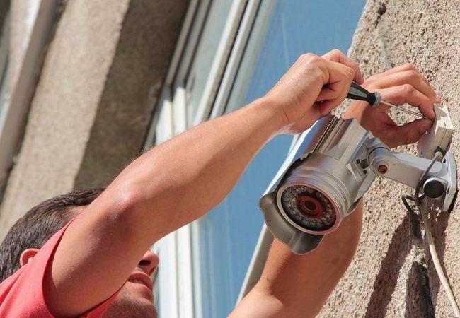 Instalação e manutenção de cameras de segurança