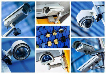 Manutenção e instalação de cameras de segurança