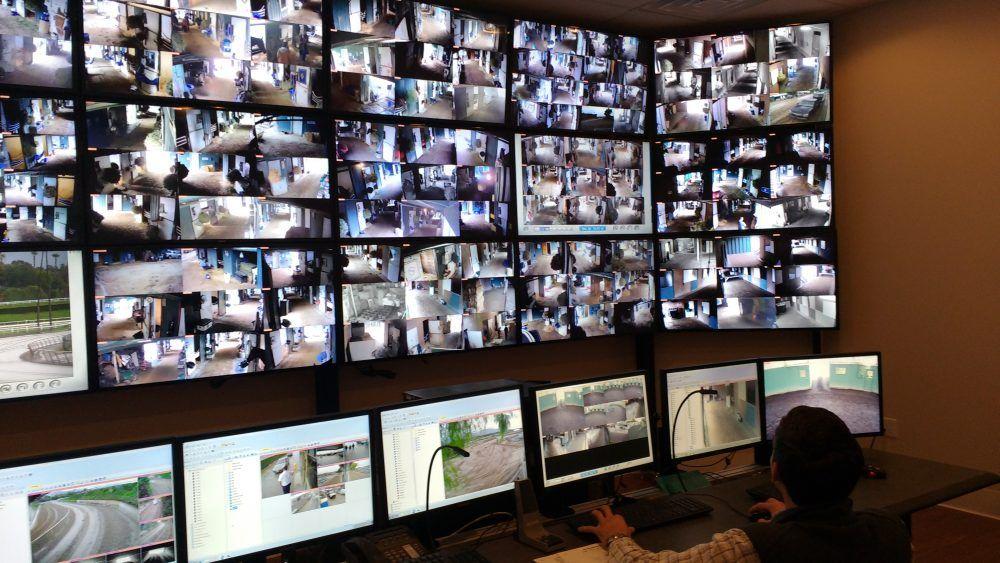 Monitoramento de cameras em condominio