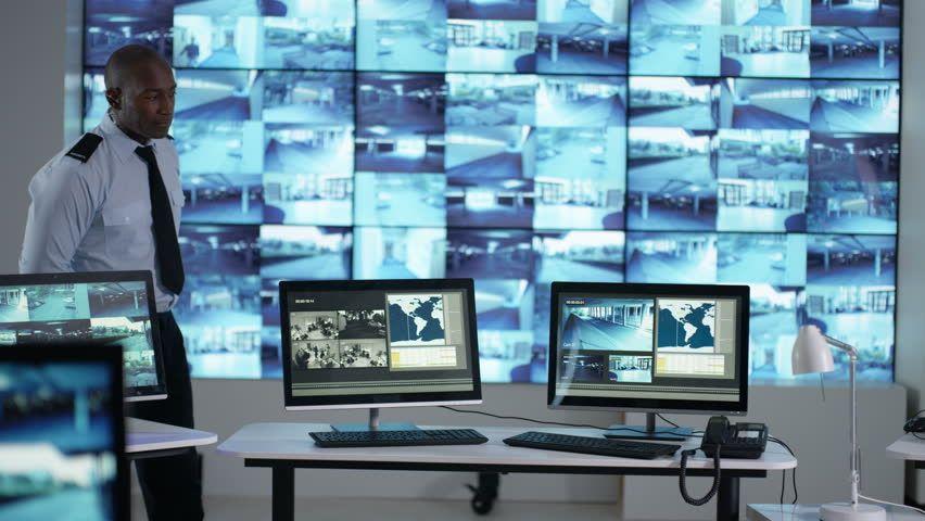 Monitoramento de cameras de segurança